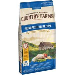 Country Farms Monoprotein Recipe - Adult