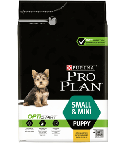 PURINA® PRO PLAN® Small & Mini Puppy with OPTISTART® Rich in chicken Front_4